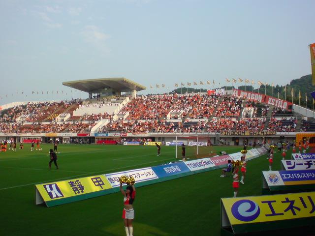 神戸戦試合前