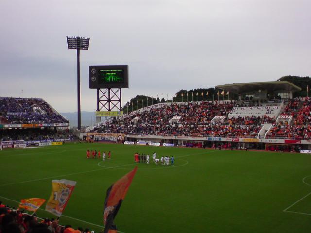 ガンバ大阪戦 3-0<br />  で終了