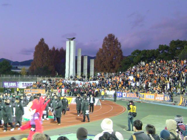 京都戦終了、5位か。