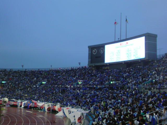09KC 日本対ベルギー試合前