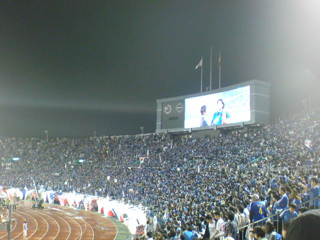 09KC 日本4-0<br />  ベルギー試合終了