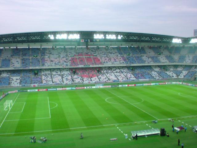 2010WCAQF日本対カタール試合前