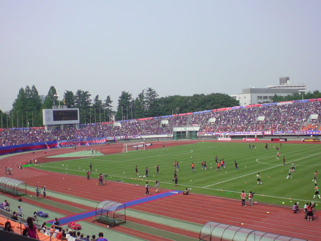 ナビ杯 FC東京戦試合前