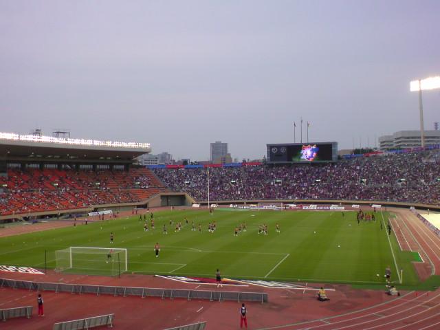 FC東京戦試合開始前