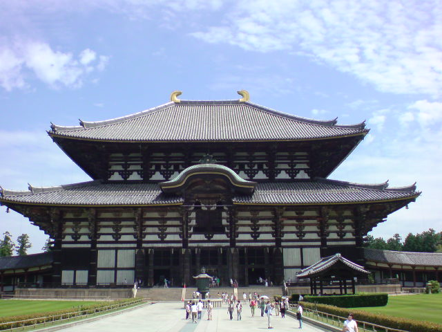 奈良観光中