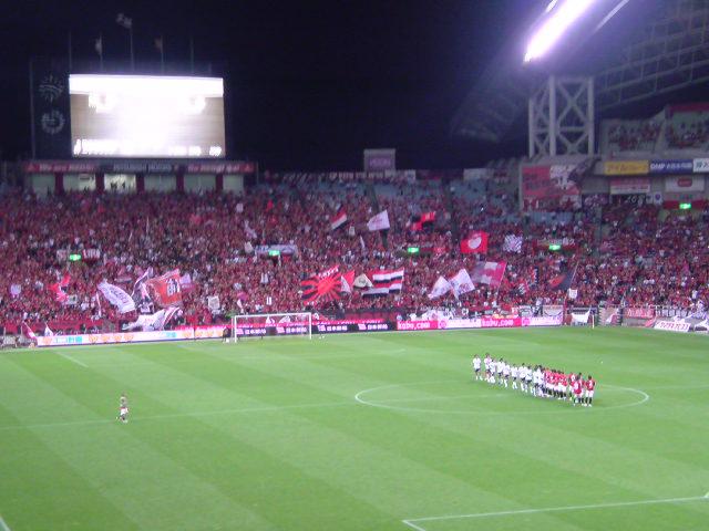ナビ杯浦和戦1-2<br />  終了