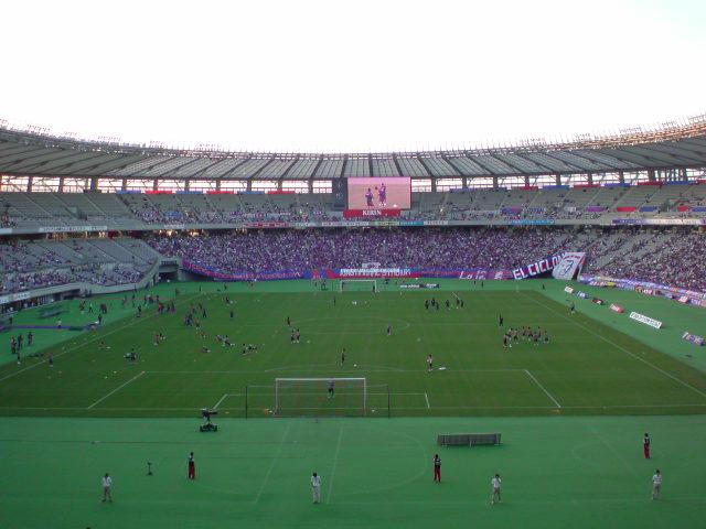 2ndleg FC東京戦試合前
