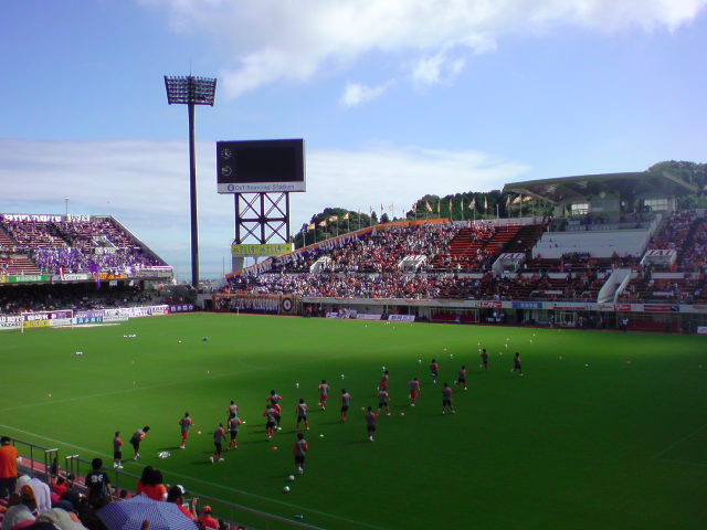 広島戦試合前
