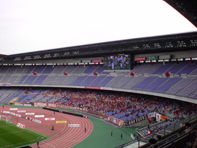 横浜Fマリノス戦試合前