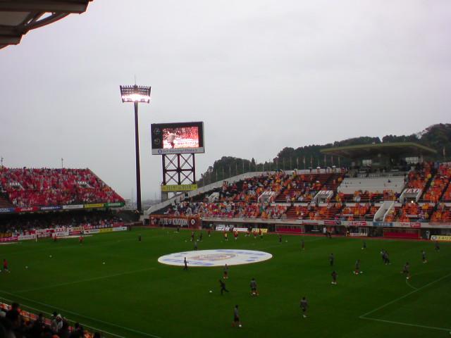 名古屋戦試合前