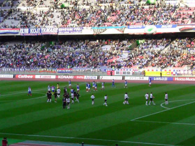 横浜F・マリノス戦勝ちました。