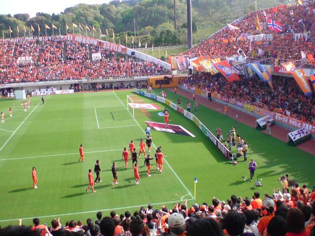 仙台戦終了、5-1<br />  で勝利。