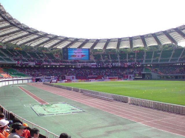 浦和戦試合前