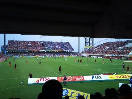 横浜F・マリノス戦試合前