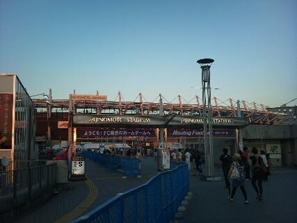 ナビスコ杯FC<br />  東京戦試合前