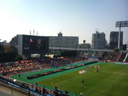 セレッソ大阪戦試合前