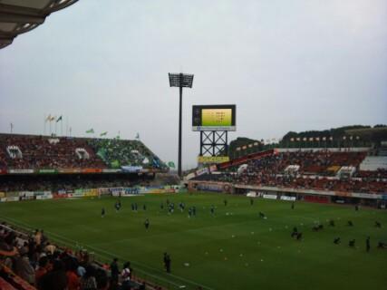 湘南戦試合前