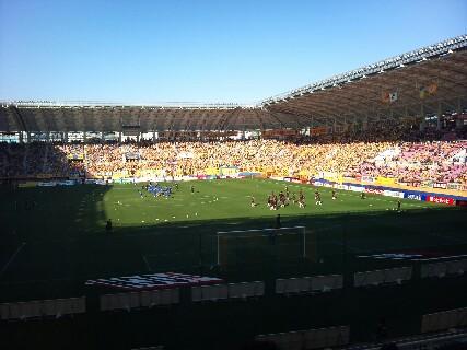 仙台戦試合前