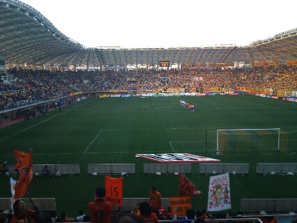 試合終了、仙台戦は勝利