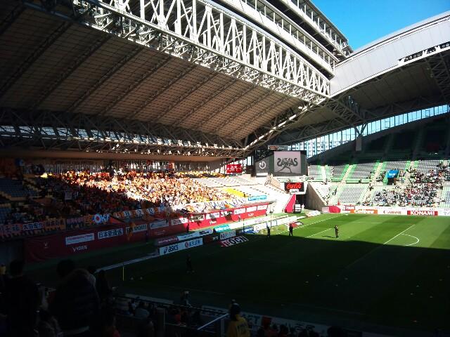 神戸戦、試合前です。