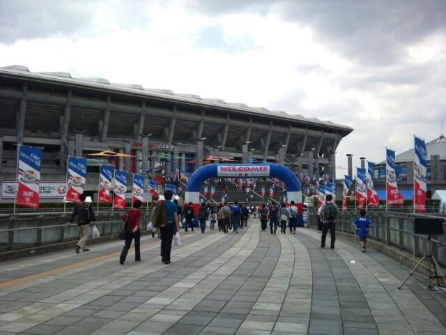 横浜Fマリノス戦 試合前です