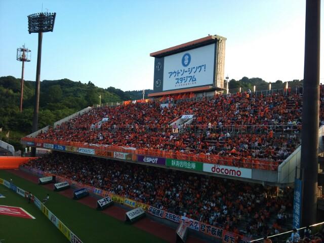新潟戦の試合前