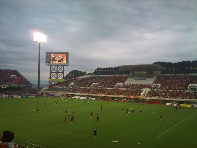 セレッソ大阪戦、試合前