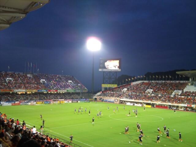 横浜F・マリノス戦、試合前に鹿児島デー