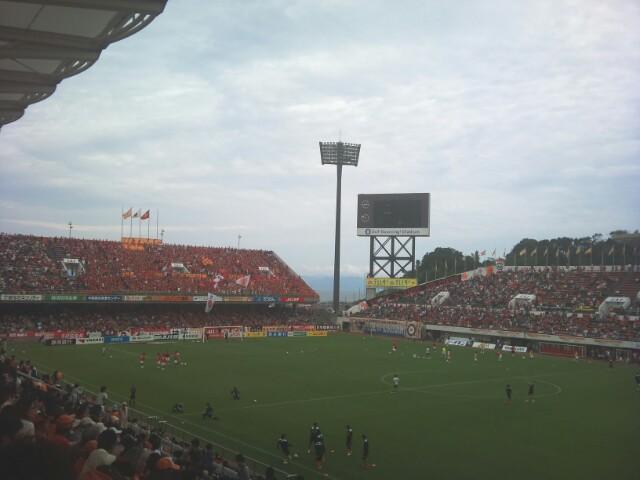 名古屋戦、試合前ですが。