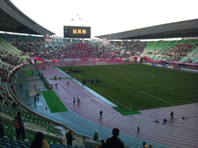 天皇杯準々決勝、セレッソ戦で敗退