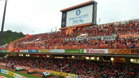 鹿島戦試合前、混雑してます