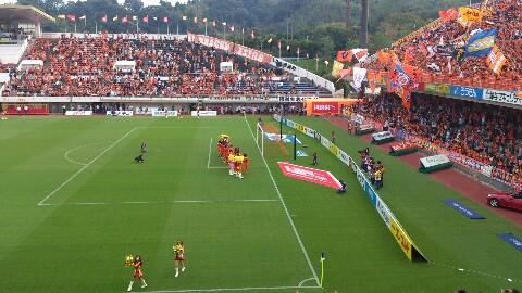 ホーム仙台戦、試合終了