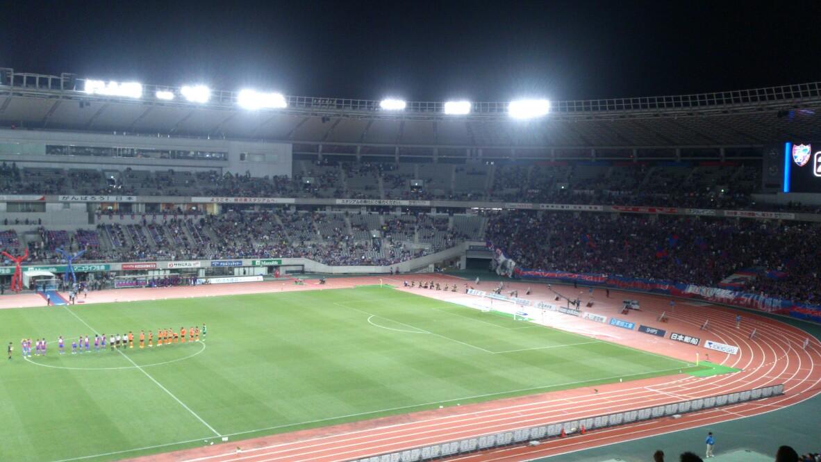 FC東京戦、負け。