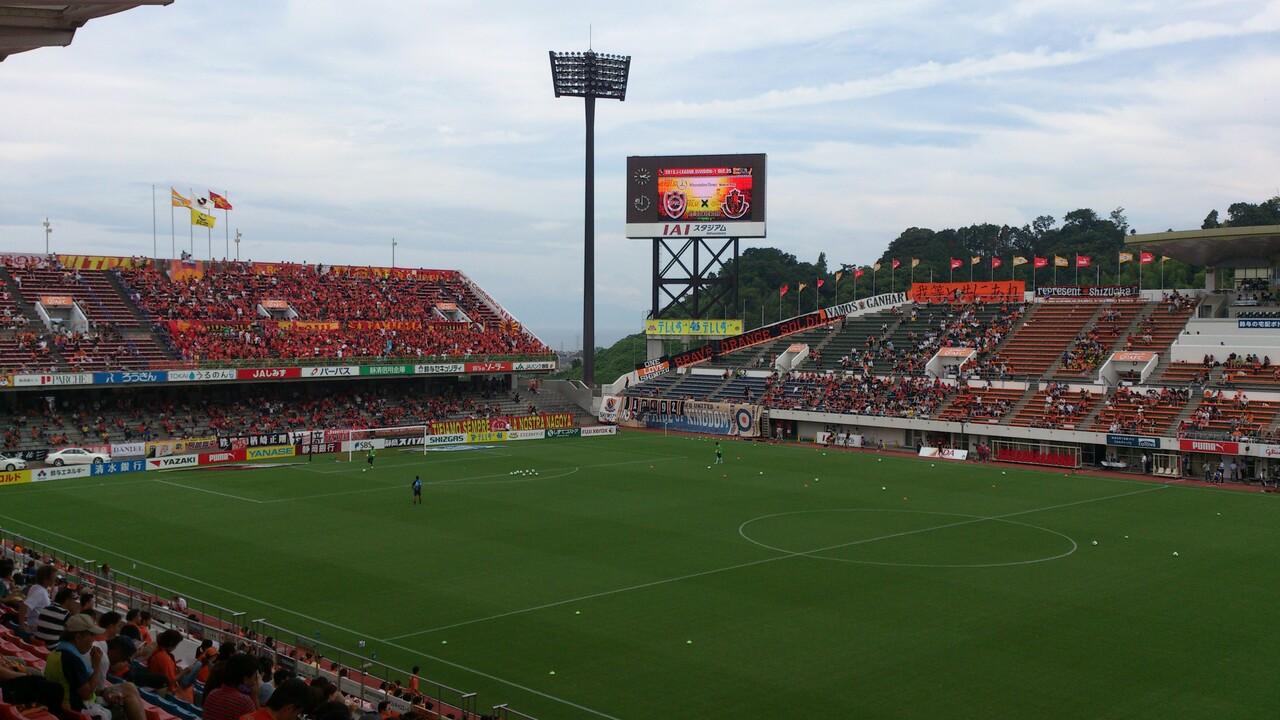 名古屋戦、試合前です。