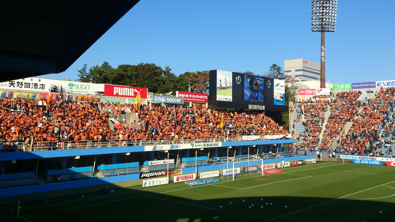 ジュビロ磐田戦、試合前
