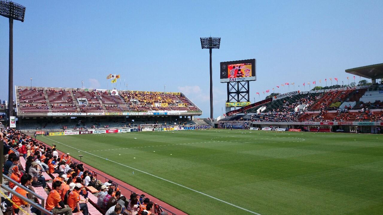 仙台戦、試合前。