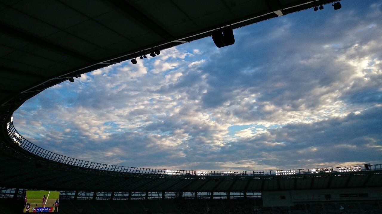 FC東京戦は試合前。