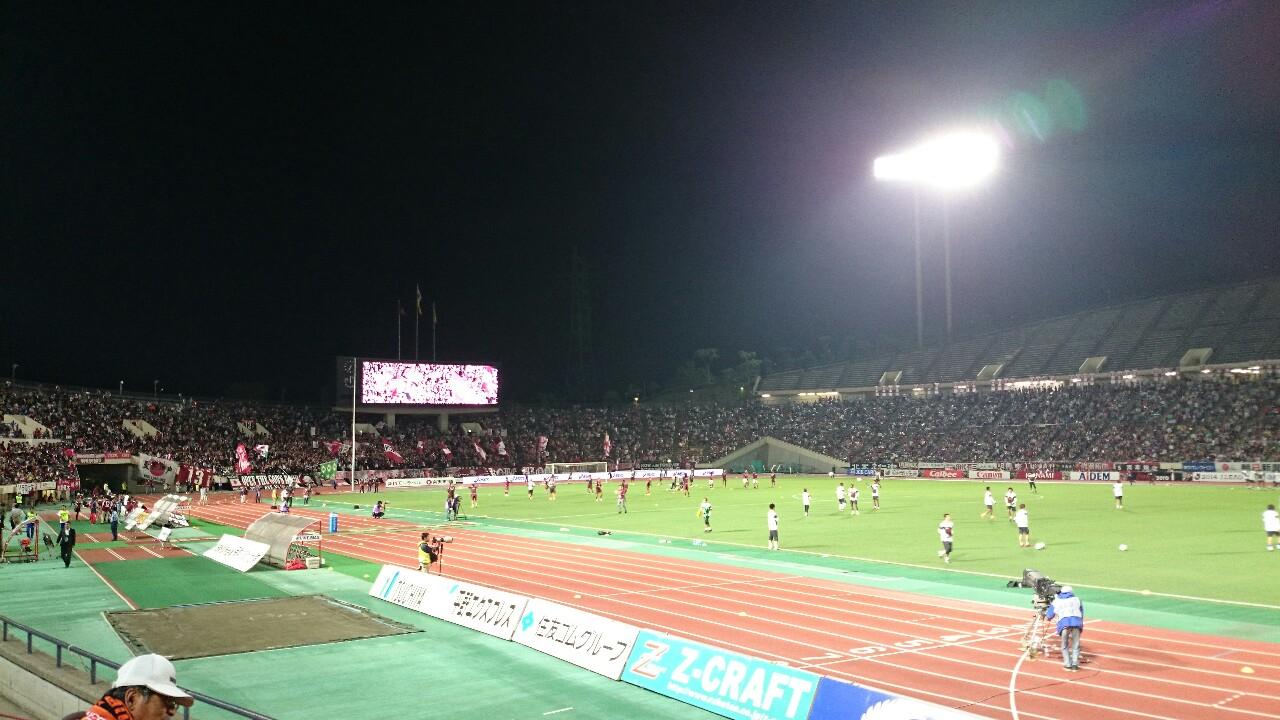 神戸戦、試合前です